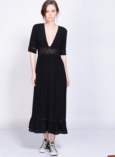 Somedays Lovin Elbise Siyah